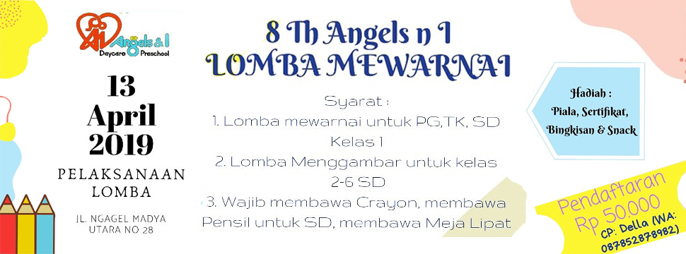 Lomba Fashion Show & Mewarnai
